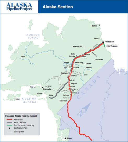 Download wallpaper high full HD » map alaska pipeline   Full ...